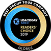 Globus - USA Today 2018 10Best Tour Companies