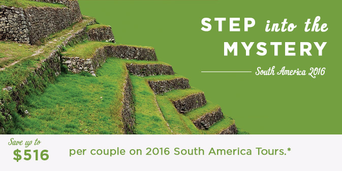 2016 South America Escorted Tour Deals