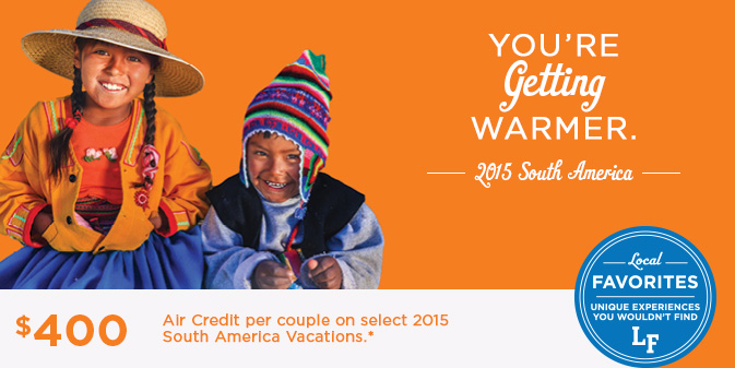 South America Guided Tour Deals