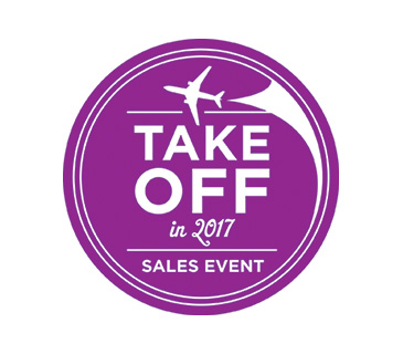 Take off in 2017 Sales Event - 10% off 2017 US Guided Tours